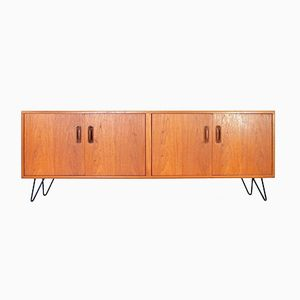 British Teak Sideboard with Hairpin Legs by Victor Wilkins for G-Plan, 1970s