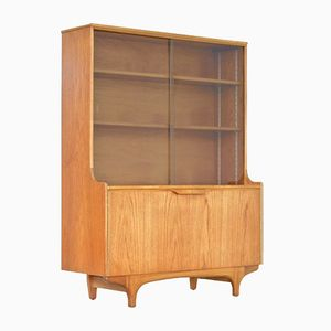 Vintage British Teak Bookcase from Sutcliffe of Todmorden