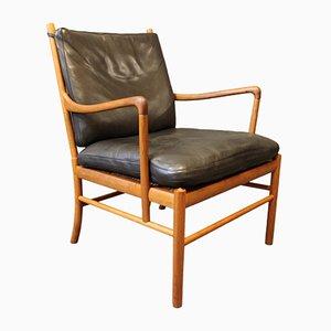 Vintage Modell PJ149 Colonial Stuhl von Ole Wanscher für P. Jeppesens Møbelfabrik