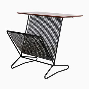 Mid-Century TM-05 Side Table with Magazine Rack by Cees Braakman for Pastoe