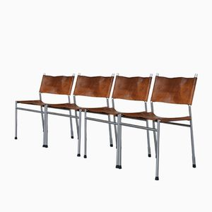 SE06 Dining Chairs by Martin Visser for 'T Spectrum, 1962, Set of 4