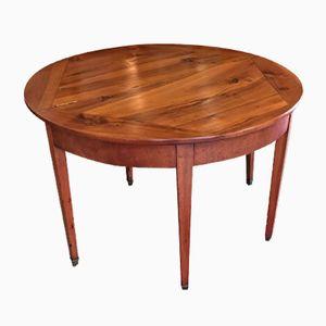 Halbrunder Tisch, 19. Jh.