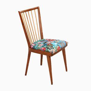 Deutscher Stuhl aus Esche & Kirschholz, 1950er
