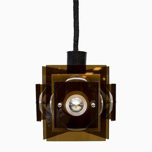 Vintage Space Age Perspex Lampe von Raak