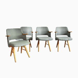 Mid-Century FE30 Dining Chairs by Cees Braakman for Pastoe, Set of 4