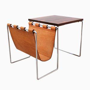 Tavolino con portariviste di Brabantia, anni '60
