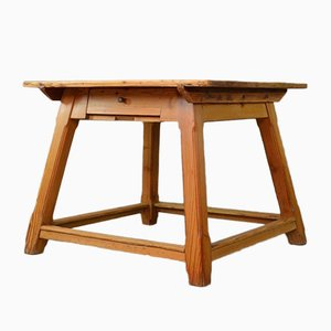 vintage arts u0026 crafts pine dining table