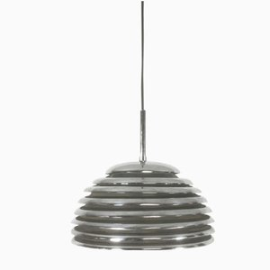 Chrome Hanging Light by Kazuo Motozawa for Staff, 1960s