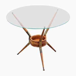 Vintage Italian Round Coffee Table