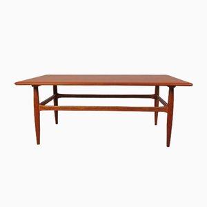 Vintage Teak Coffee Table by Kurt Østervig for Jason Møbler