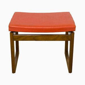 Mid-Century Quadrille Stool by R. Bennett for G-Plan