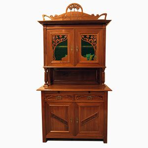 Antique German Art Nouveau Buffet