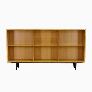 Dänisches Vintage Esche Furnier Bücherregal von DUBA Møbelindustri
