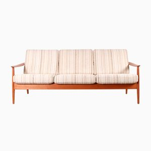 Teak 3-Seater Sofa by Arne Vodder for France & Son, 1960s