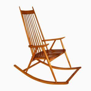 Finnish Rocking Chair by Varjosen Puunjalostus for Uusikylä, 1965