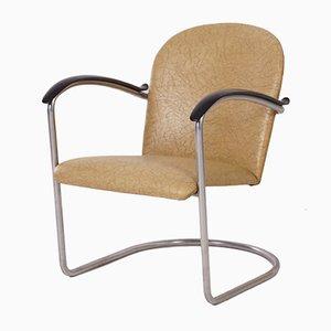 414 Röhren-Sessel von W.H. Gispen für Gispen, 1960
