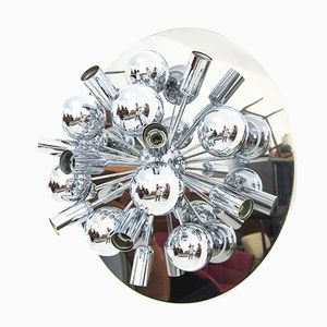 Sputnik Wall Sconce in Chromed Metal from Cosack