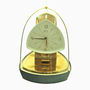 German Vintage Table Clock from Kundo, 1950s