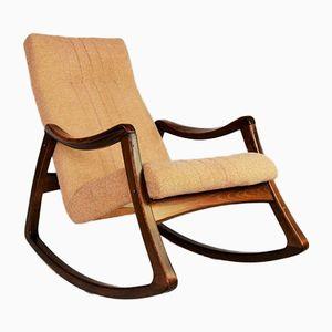 Rocking Chair Vintage par TON, 1960s