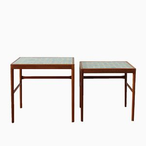 Vintage Nesting Tables by Helge Vestergaard Jensen for Peder Pedersen