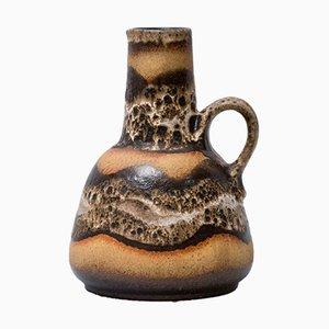Mid-Century Fat Lava Vase 1054/22 von Dumler & Breiden