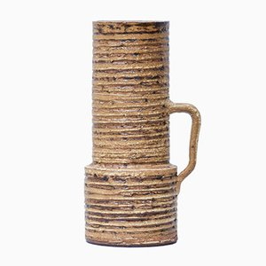 Mid-Century Cylindrical Vase by Halidun Kutlu for Spara Schamotte Keramik