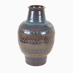 Grand Vase en Poterie et Céramique de Soholm, Danemark, 1960s