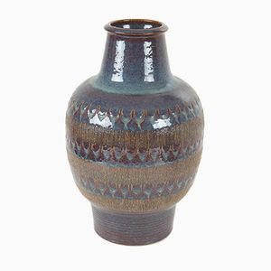 Large Danish Ceramic Pottery Vase from Soholm, 1960s