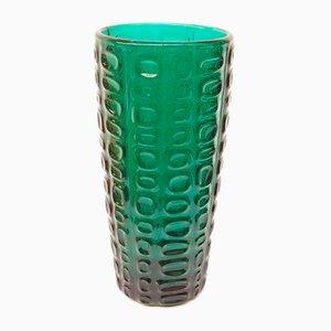 Polish Vase by Jan and Eryka Drost for Glassworks Ząbkowice, 1960s