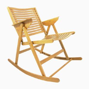 Foldable Rex Rocking Chair by Niko Kralj