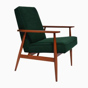 Green Polish Armchair by H. Lis, 1960s