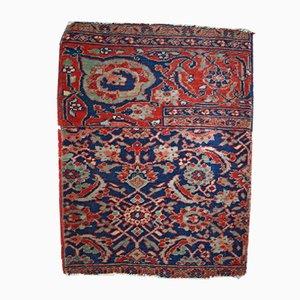 Antiker Handgemachter Persischer Bidjar Vagireh Teppich, 1900er