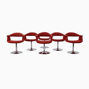 Mid-Century Forelli 8565 Chairs von Eero Aarnio für Asko Lahti Finland, 6er Set