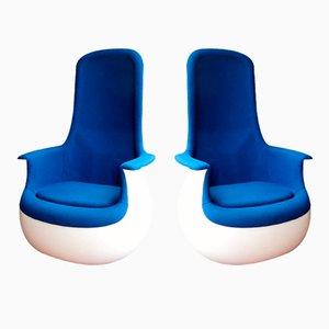 Culbuto Sessel von Marc Held für Knoll, 1970er, 2er Set