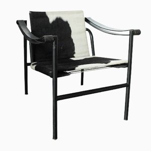 LC1 Chair by Le Corbusier, Pierre Jeanneret & Charlotte Perriand for Cassina, 1980s