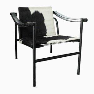 LC1 Stuhl von Le Corbusier, Pierre Jeanneret & Charlotte Perriand für Cassina, 1980er