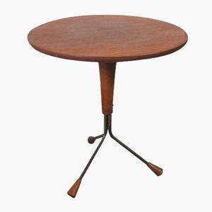 Table Atomic Mid-Century par Albert Larsson pour Alberts Tibro, Suède, 1950s