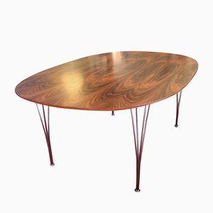 Table Super Ellipse par Piet Hein, Arne Jacobsen et Bruno Mathsson, 1970s