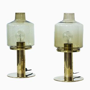 Lampes de Bureau B102 par Hans-Agne Jakobsson, Suède, 1960s, Set de 2