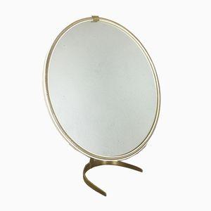 German Modernist Table Mirror from Vereinigte Werkstätten, 1950s