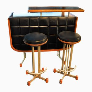 Bar with Two Stools, 1960s