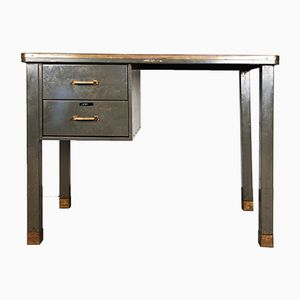Metal Desk from Ribeauville Demolder, 1940s