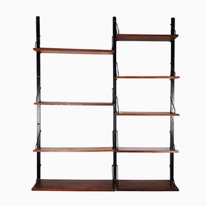 Vintage Rosewood Wall Unit by Poul Cadovius for Cado