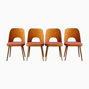 Vintage Dining Chairs by Oswald Haerdtl for Thonet, Set of 4
