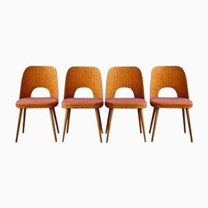 Vintage Esszimmerstühle von Oswald Haerdtl für Thonet, 4er Set