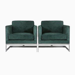 Vintage 983-103 Sessel von Milo Baughman für Thayer Coggin, 2er Set