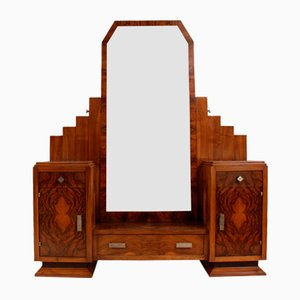 French Art Deco Dressing Table by Henry Geneste, 1920s