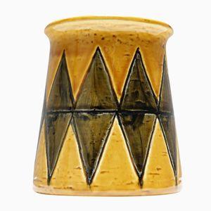 Harlekin Keramik Vase von Gunnar Nylund für Rörstrand, 1960er