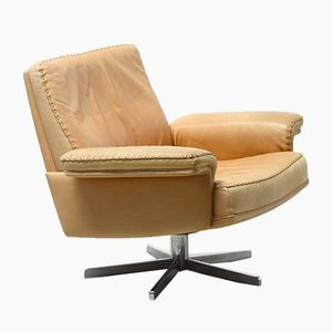 Vintage DS35 Leather Easy Chair from de Sede