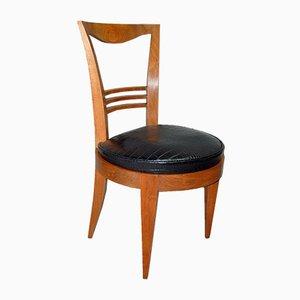 Art Deco Stühle, 4er Set, 1930er